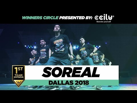 SOREAL | 1st Place Team Division | World of Dance Dallas 2018 | WODDALLAS18