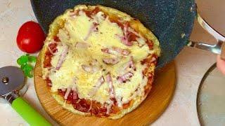 КАРТОШКА ПИЦЦА На СКОВОРОДЕ БЕЗ Муки Простой Рецепт Вкусная картофельная пицца на ужин или обед