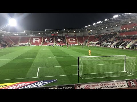 Rotherham United Vs Walsall - Match Day Experience