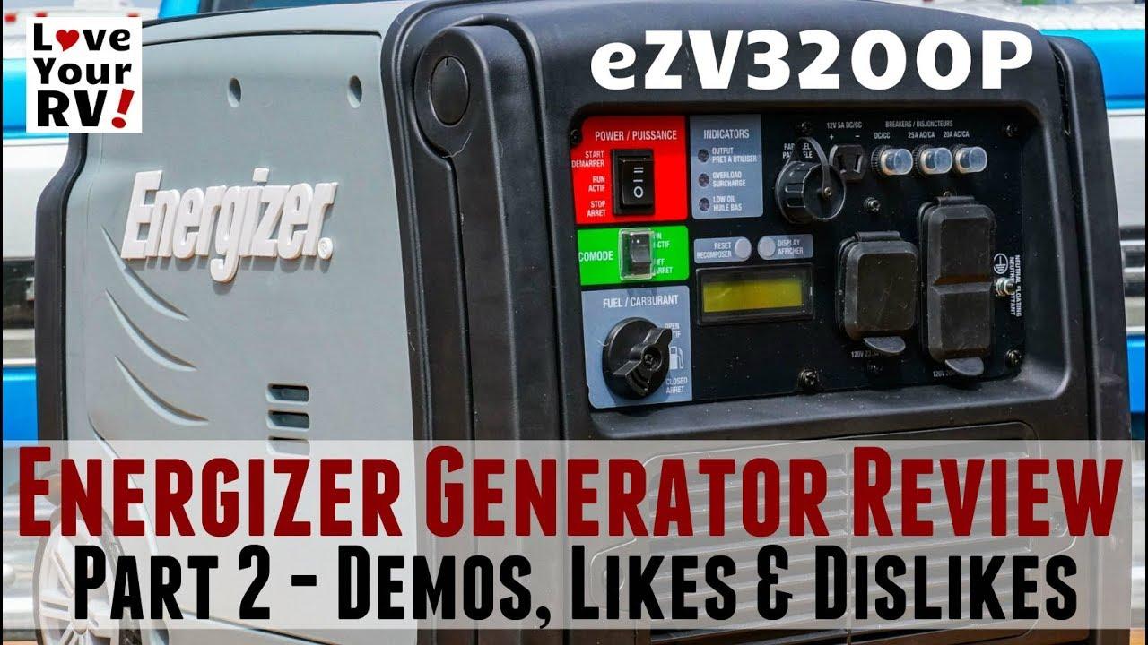 energizer-generator-review-ezv3200p-demos-likes-dislikes
