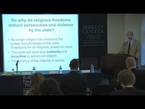 Roger Finke on Religious Freedoms and Reducing Social Conflicts