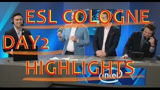 CS GO ESL COLOGNE 2016 DAY2 INSANE FRAGS CLUTCHES AND LOLS KENNYS DRINKS URINE