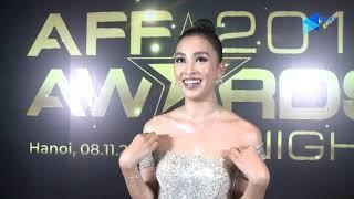 Hoa hậu Tiểu Vy khen Quang Hải nam tính, mạnh mẽ tại lễ trao giải AFF Awards 2019   Next Sports