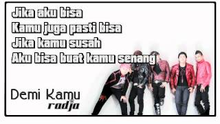 Radja - Demi Kamu (With Lyrics)
