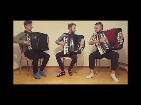 CrazyAccordion Trio  Something Just Like This  The Chainsmokers & Coldplay
