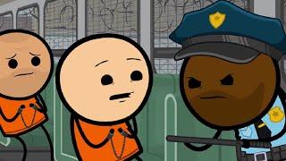 Was man im Gefängnis nicht tun sollte - Cyanide & Happiness - Prison (German/Deutsch)