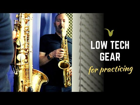 Must Have LOW TECH Gear for ALL Musicians (Especially Sax Players)