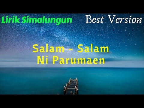 SALAM - SALAM NI PARUMAEN (Lirik)  [Lagu Simalungun ]