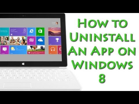 how do i remove an app from my iphone how to uninstall an app on windows 8 1737