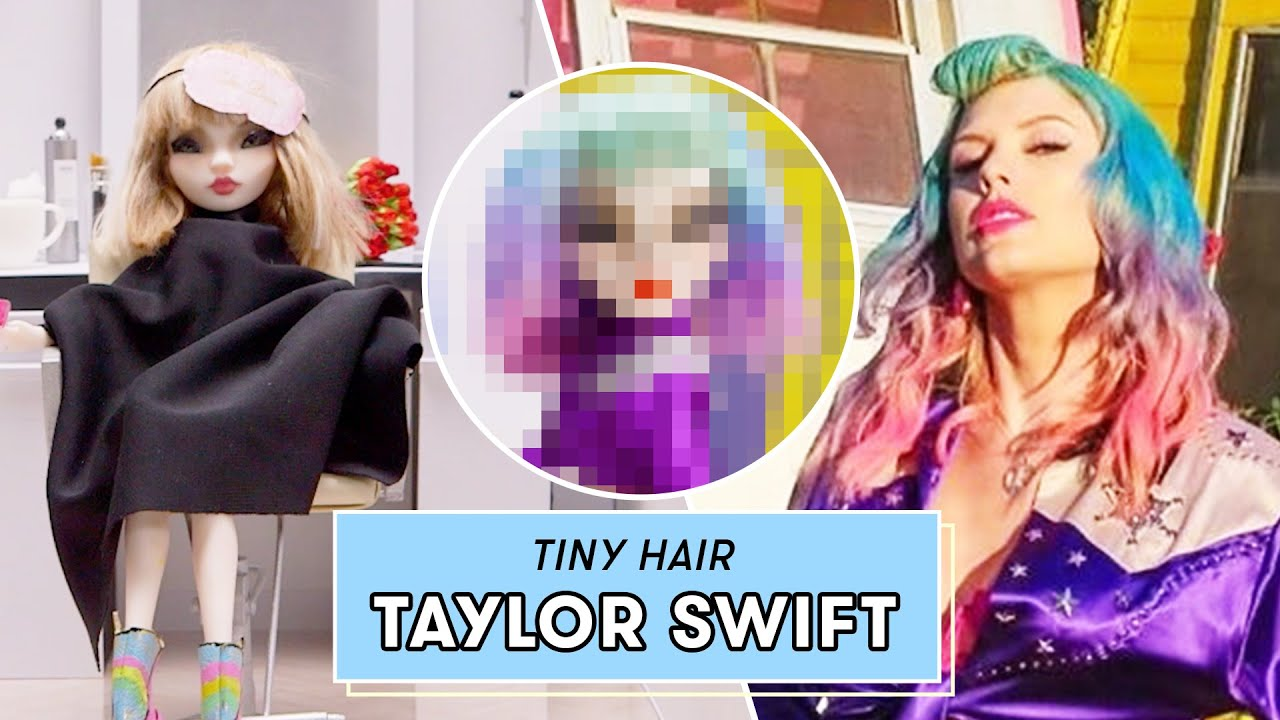 We Transformed This Doll Into Taylor Swift Doll Makeover Youtube