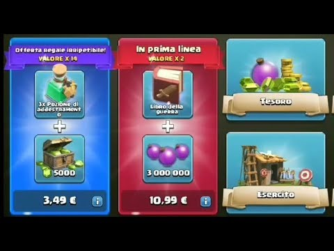 Speciale 20 iscritti... shop??? 5000 gemme Clash of Clans #3