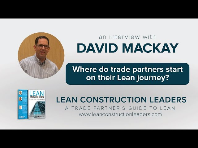 Where do trade partners start on their Lean journey?