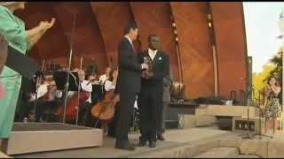 Boston Landmarks Orchestra Pays Tribute To Leader Of Congo Symphony  - CBS Boston