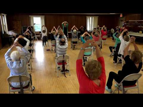 Chair Yoga with Eileen Carey 53 min.