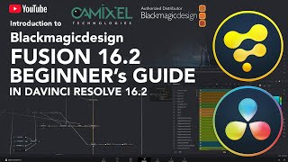 Introduction to Blackmagicdesign Fusion 16.2 | Beginners Guide | Davinci Resolve 16.2