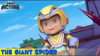 Vir The Robot Boy | Hindi Cartoon For Kids | The Giant Spider | Animated Series | WowKidz Action