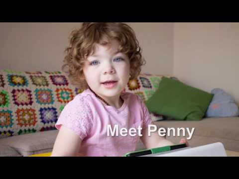 Penny - 2.5 Year Old Girl With Autism Uses Assistive Technology
