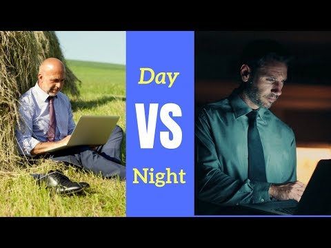 Why I Work From 5pm to 9am Instead of 9 to 5 (Life HACK)