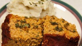 Vegan Oatmeal Tempeh Meatloaf (low Salt!)