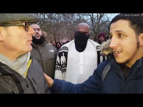 Not everywhere! Br Shamsi vs mark Speakers Corner Hyde Park