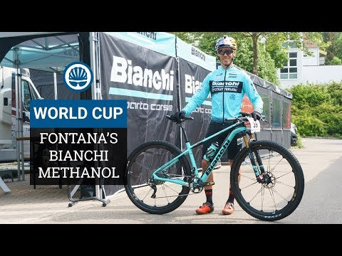 Marco Fontana's Bianchi Methanol - The Weight? No Idea