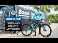 Marco Fontana's Bianchi Methanol - The Weight? No Idea