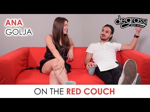 On the Red Couch: Ana Golja - Degrassi: Next Class