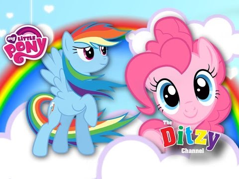 Super Cute My Little Pony Mlp Pinkie Pie Amp Rainbow Dash