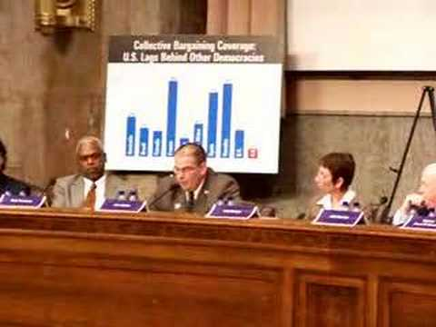 VZB Tech J Linder Testifies to Congress on VZB Union Busting