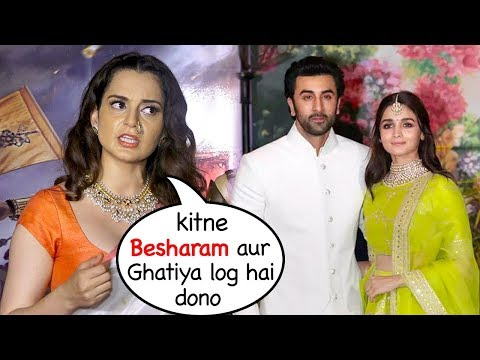 Kangana Ranaut BLASTS 😡😡😡 Ranbir Kapoor & his Girlfriend Alia Bhatt's Relationship