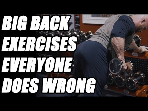 Big Back Exercises Everyone Does Wrong (Part 2) - Dumbbell Rows