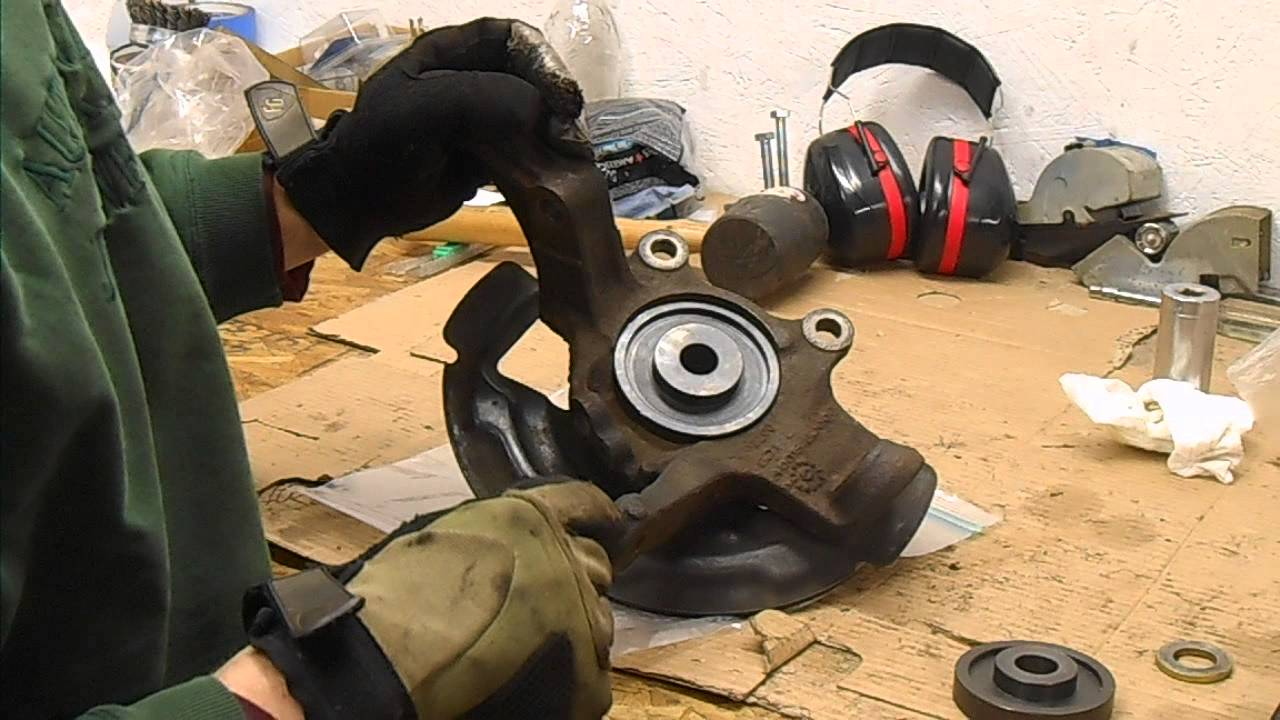 2003 Altima Front Wheel Bearing Replacement Part 3 - YouTube