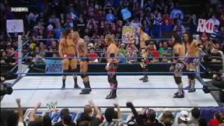 Randy Orton RKO 5 Men in 30 Second - the Most Amazing RKOs in 2012 .flv