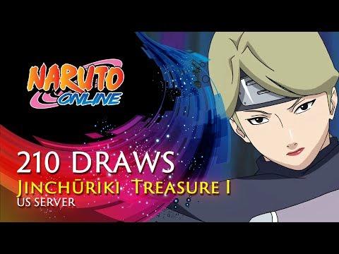 Naruto Online - 210 Seal Scrolls US Drawing | Jinchūriki  Treasure I