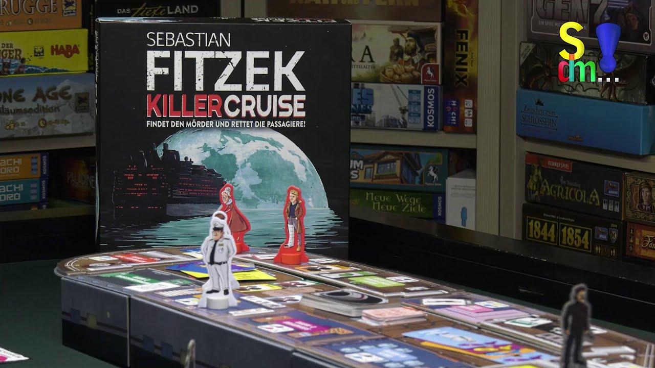 Spiel doch mal SEBASTIAN FITZEK KILLER CRUISE! - Brettspiel Rezension Meinung Test #348