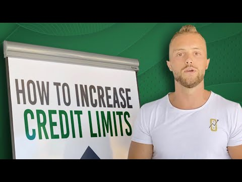 How To Increase Credit Limits
