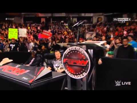"Return of the ""anonymous general manager"" / RAW 11/24/2014"