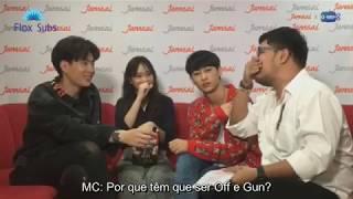 OffGun - Jamsai Facebook live com JittiRain   Legendado