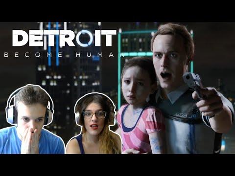 DETROIT: BECOME HUMAN E3,  INCREÍBLE JUEGO | VÍDEO REACCIÓN
