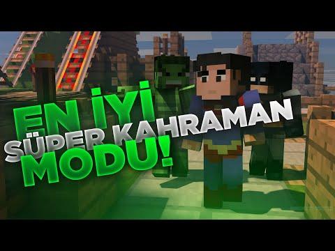 MİNECRAFT 1.12.2 SUPER HEROES MOD!   EFSANE!!! ( AMAZİNG!!! )