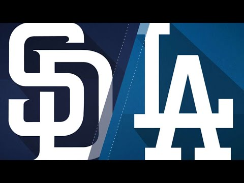 Hill, 5-run 3rd propel Dodgers to 7-2 win: 9/22/18