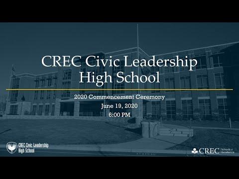 CREC Civic Leadership High School 2020 Commencement | June 19, 2020