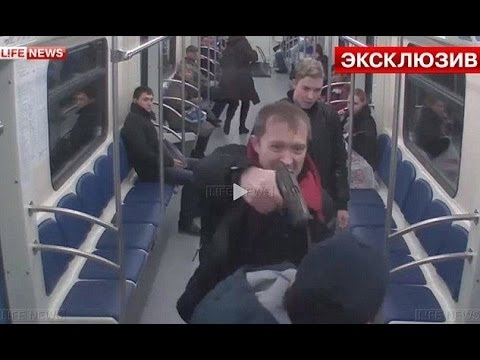 Innocent commuter shot in the face in racist attack on Moscow metro