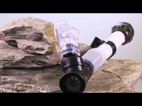SCUBA LAB IST 3D Flex Dry Snorkel Product Demo