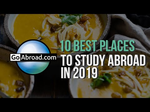 10 Best Places to Study Abroad in 2018