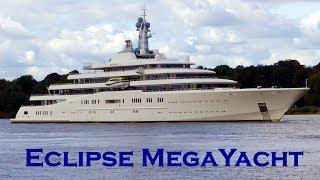 ECLIPSE - Abramovich's MEGA-YACHT in Hamburg