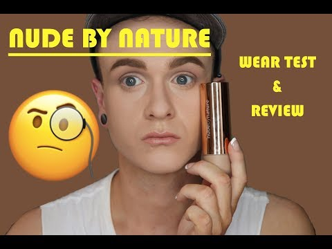 NEW NUDE BY NATURE FOUNDATION | WEAR TEST & REVIEW