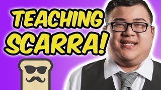 TEACHING SCARRA HEARTHSTONE | RENOUNCE WARLOCK | DISGUISED TOAST