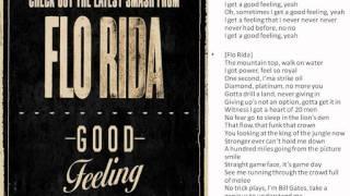 Florida - Good feeling [Lyrics on screen]
