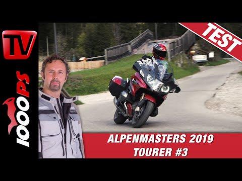 BMW R 1250 RT 2019 Test beim Alpenmasters Vergleich - Tourer Folge 3/4